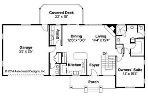 ranch house plans open floor plan ranch house plans gatsby 30 664 associated designs