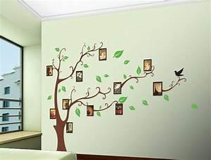 Baum An Wand Malen : wandgestaltung selber machen 140 unikale ideen ~ Frokenaadalensverden.com Haus und Dekorationen