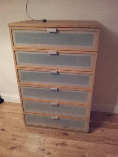 Hopen Dresser 6 Drawer by Ikea Hopen Oak Chest Of 6 Drawers For Sale In Tullow