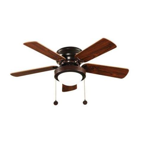 5 blade hton bay ceiling fan hton bay capri 36 in oil rubbed bronze ceiling fan
