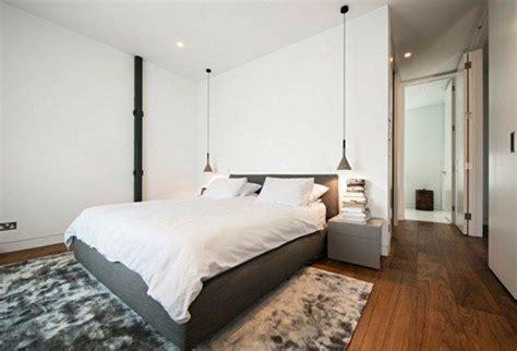 pendelleuchte schlafzimmer pendelleuchte schlafzimmer len holzboden teppich grau