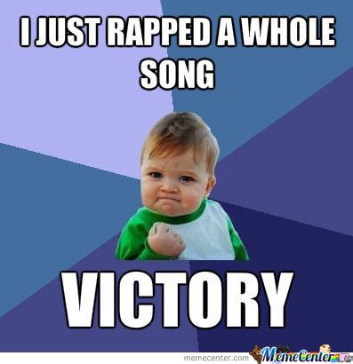 Victory Meme Face - victory baby by xora101 meme center