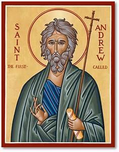 Men Saint Icons: St Andrew Icon Monastery Icons