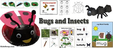 preschool bug lesson plans kidssoup 811