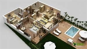 3d Laxurious Residential Floor Plan Di Yantram