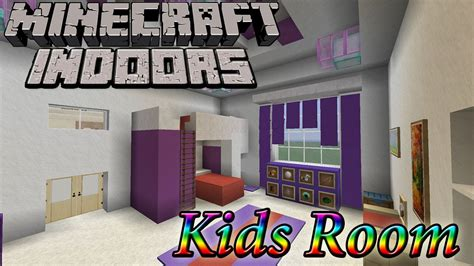 Minecraft Indoors  Kids Room Youtube