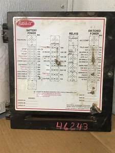 Model 335 Peterbilt Fuse Box Diagram