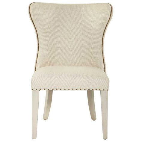 oriana modern classic upholstered wing side dining