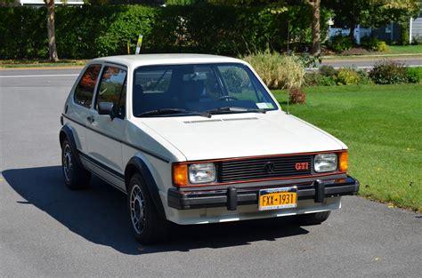old volkswagen rabbit 1984 volkswagen rabbit gti great original condition