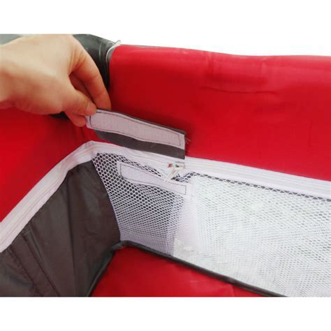 Baby Travel PortaCot Playpen w/ Carry Bag in Red   Buy
