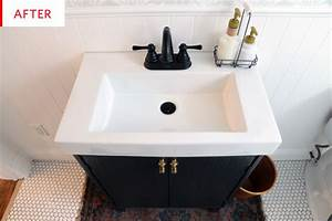 Before & After: A Half Bath Gets a Full Makeover | Ikea ...