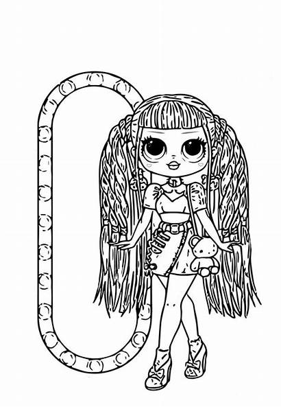Coloring Pages Omg Dolls Lol Surprise Popular