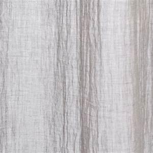 Rideau Voilage Gris : rideau voilage memo 140x240cm gris clair ~ Preciouscoupons.com Idées de Décoration