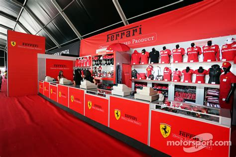 The oldest surviving and most successful formula one team, having competed in every world championship since 1950 formula one season. Ferrari Merchandise Stand at Spanish GP