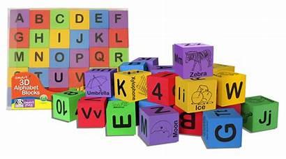 Blocks Alphabet Cubes Smart Play Eva Foam