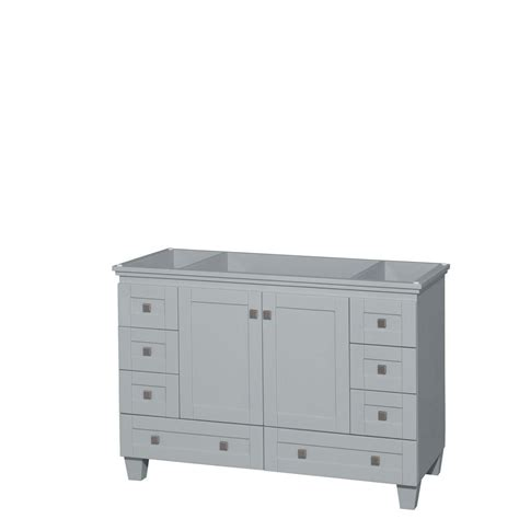 images of kitchens with oak cabinets kohler jute 48 in vanity cabinet in satin oak k 99544 sd 8980