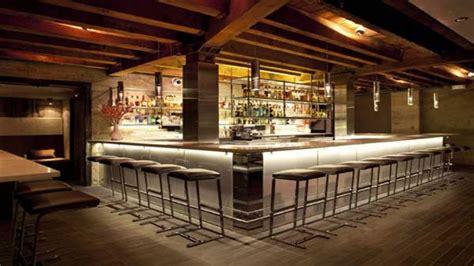 wall mounted liquor modern restaurant bar design small restaurant design ideas