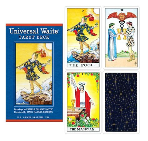 universal waite tarot deck the magickal cat pagan wiccan shop