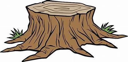 Stump Tree Vector Clip Clipart Removal Baumstumpf
