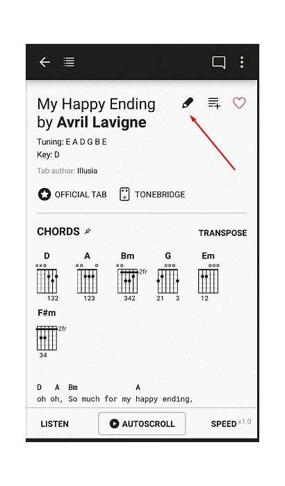 Tabs Chords Personal Guitar Android App Ultimate