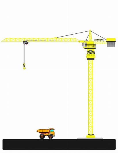 Crane Tower Clipart Clip Cranes Transparent Webstockreview