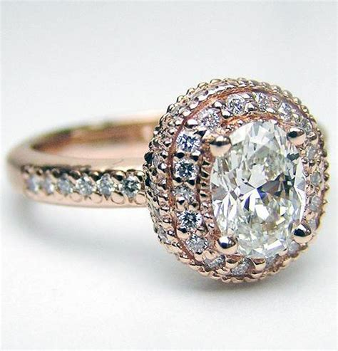 vintage engagement rings gold inofashionstyle com