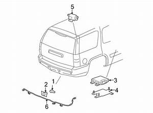 2009 Chevrolet Tahoe Parking Aid System Wiring Harness