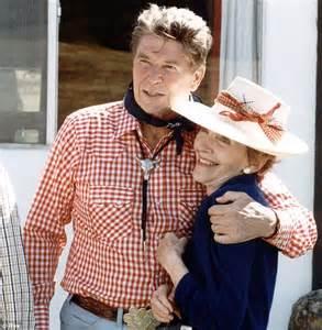 Ronald Reagan clocked off at 6.30 sharp and sat down to