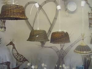 Abat Jour Osier : cone sapin vannerie google search twigs pinterest tressage de panier ~ Teatrodelosmanantiales.com Idées de Décoration