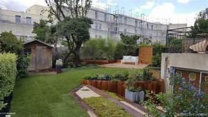 Un jardin pense dans une zone urbaine perspective jardins for Superb amenagement jardin facade maison 3 jardin 44 creation de jardin contemporain classique