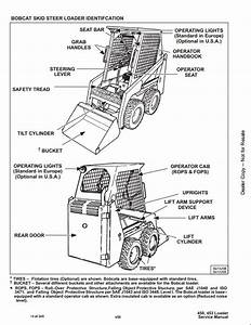 Bobcat 450 453 Skid Steer Loader Service Repair Workshop Manual 561711001