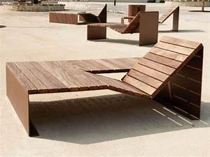 Mobilier Bois Design : mobilier urbain bain de soleil duo variante absolut cr ation originale cyria max pinterest ~ Melissatoandfro.com Idées de Décoration