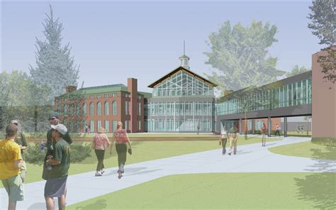 See how hard classes are at clarkson college. Green Building Blocks for New Campus Building
