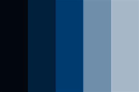 tardis doctor who color palette