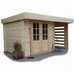 Abri De Jardin Avec Bucher : abri jardin toit plat comparer 165 offres ~ Dailycaller-alerts.com Idées de Décoration