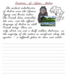 Cursive Paragraph Practice Worksheets