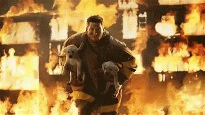 Firefighter Fire Gifs Dogs Woman Fighter Tenor