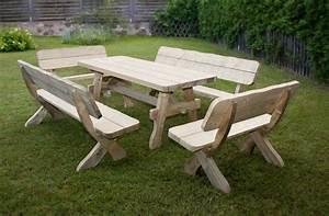 Salon De Jardin En Bois : salon jardin bois ~ Dailycaller-alerts.com Idées de Décoration