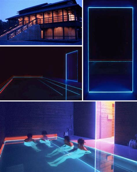 House Of Lights by The House Of Light Hotel By Turrell Between The