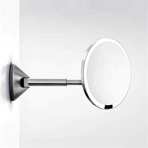 simplehuman wall sensor mirror review