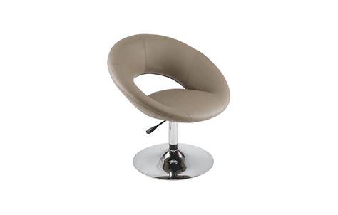 fauteuil pivotant en cuir pu design