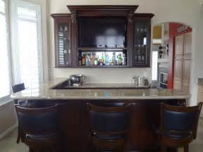 Custom Built in Home Bar Cabinets