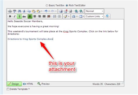 how to send an email with attachments blue sombrero