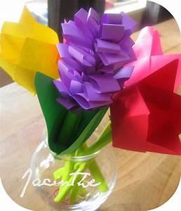 Fleur De Papier : jacinthe en papier les p 39 tits pieds canadiens ~ Farleysfitness.com Idées de Décoration
