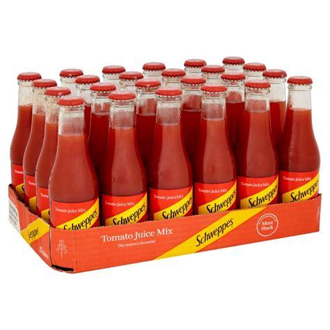 Schweppes Tomato Juice Mix 24 x 200ml   BB Foodservice