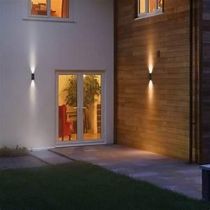 Led Außenbeleuchtung Haus : endura style updown led wall lamps by osram connox ~ Sanjose-hotels-ca.com Haus und Dekorationen