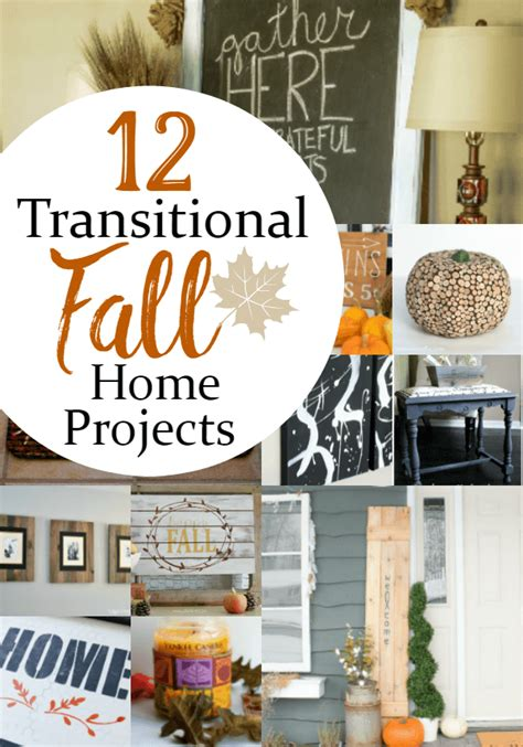 12 ideas to transition your home decor for fall an