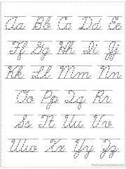 choose   alphabet chart printable