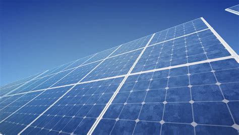 solar panel time lapse stock footage video