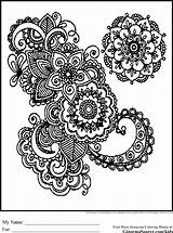 Coloring Pages Adults Google Printable Colouring Sheets Adult Books Mandala Cool Advanced Patterns sketch template